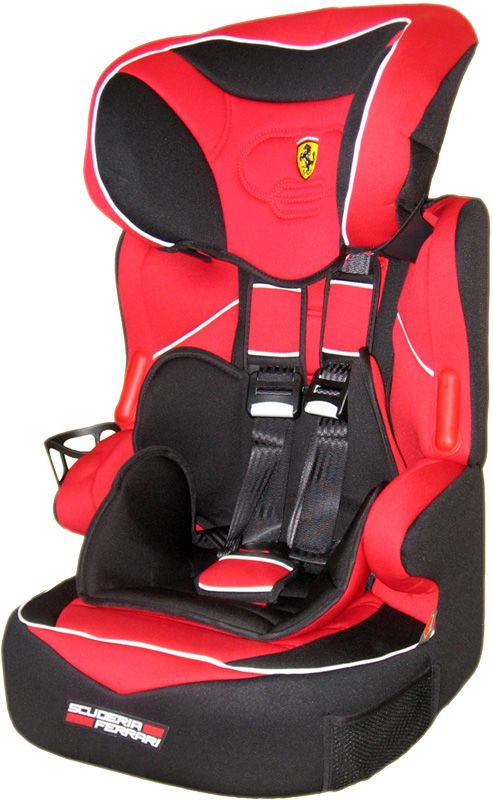sp ferrari kindersitz kinder autositz baby sitz gruppe 1 2. Black Bedroom Furniture Sets. Home Design Ideas
