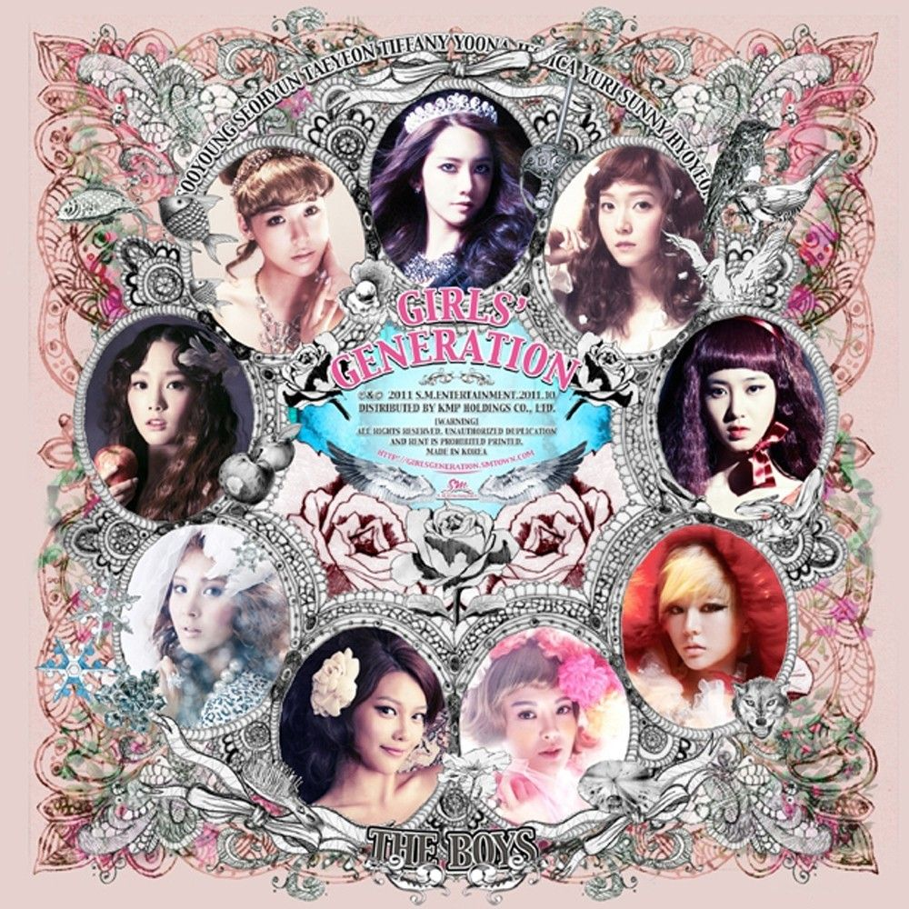 [Single] Girls' Generation (SNSD) - The Boys [Maxi Single]