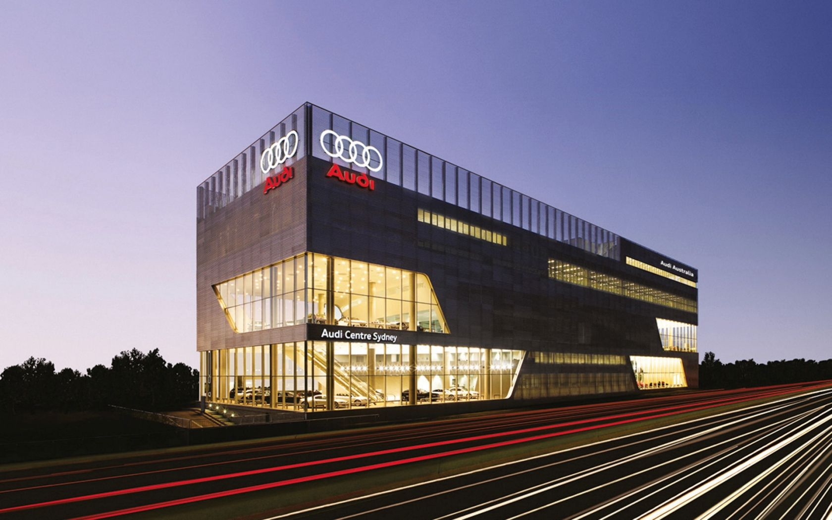the most beautiful car dealerships  u2013 audi lighthouse terminal sydney