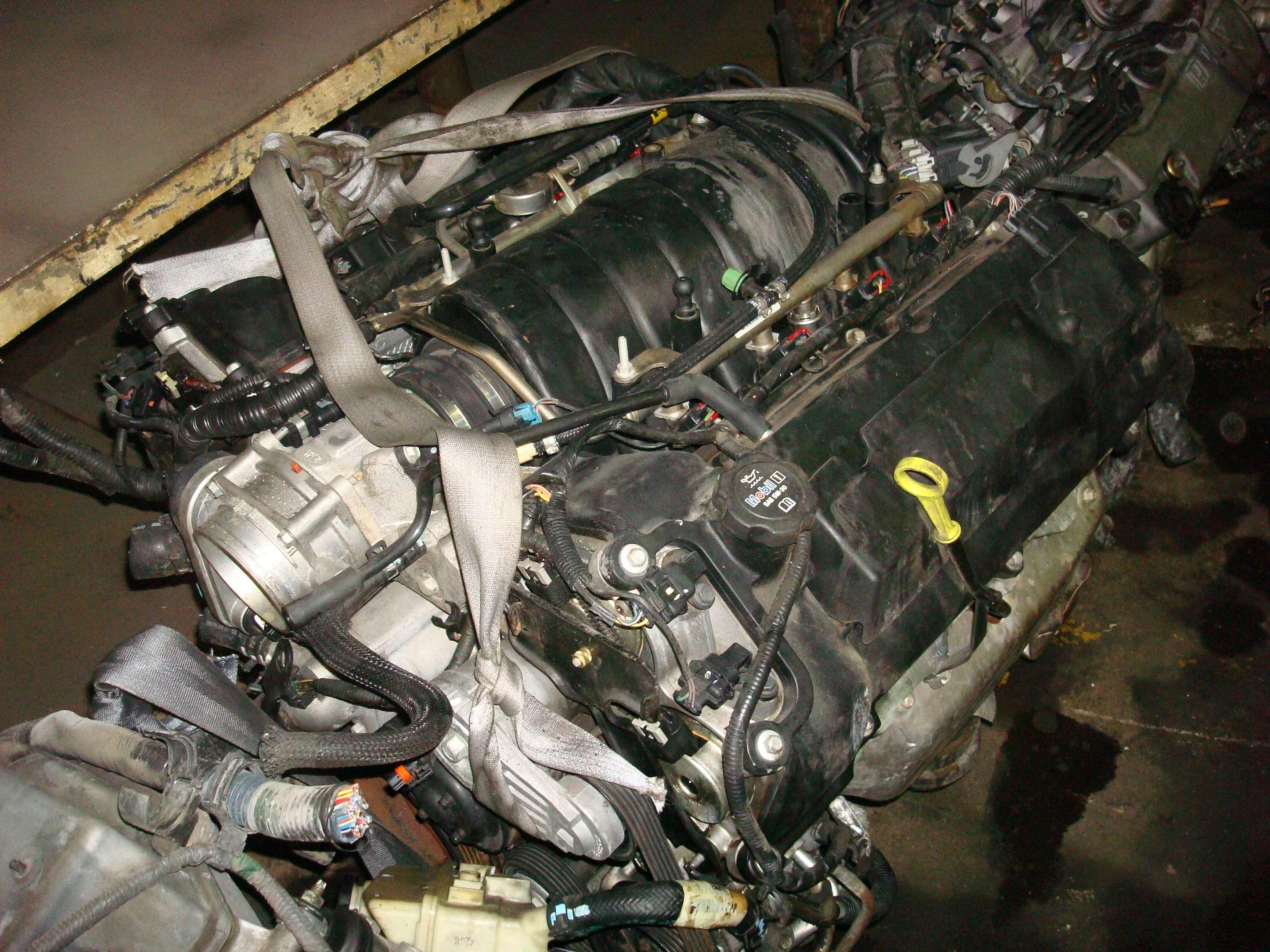 Cadillac Northstar Engine Removal