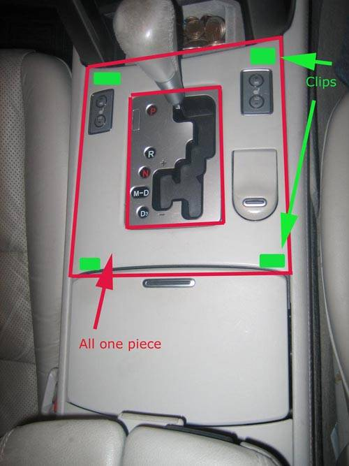 Service manual Seat Heater Switch Back Light How To