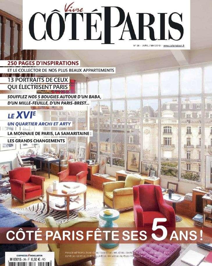 Vivre Coté Paris N°26 Avril Mai 2013