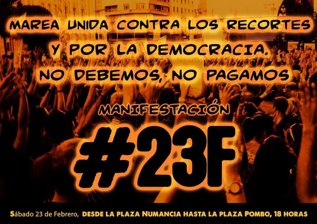 Manifestacion 23F de 2013