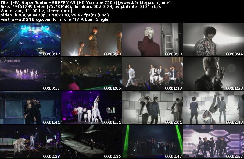 [MV] Super Junior   SUPERMAN (HD 720p Youtube)
