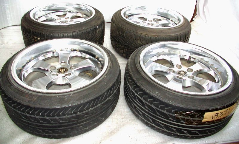 ENKEI ABC 18 10J 11J Alloy Wheels rims 5x114