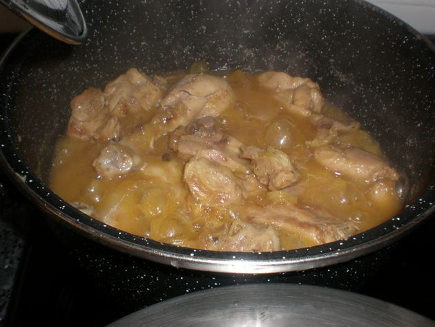 hechop - ▷ Muslos de pollo en jugo de cebolla  