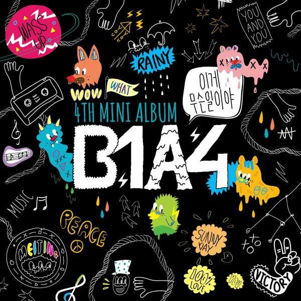 [Mini Album] B1A4 - What's Going On [4th Mini Album]